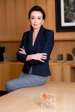 Roma, 04/02/2011-Monica Mondardini amministratore delegato di Gruppo Editoriale L'Espresso S.p.A..