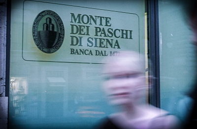 ROMA 22 AGOSTO 2005 MONTE DEI PASCHI DI SIENA NELLA FOTO SEDE CENTRALE MONTE DEI PASCHI DI SIENA