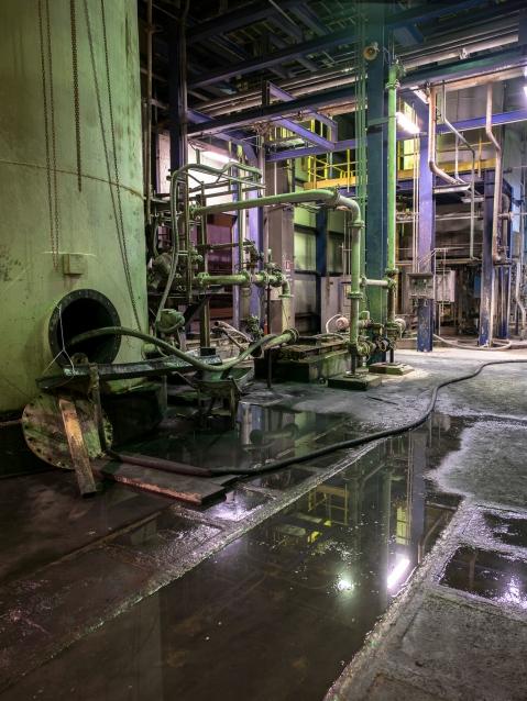 22- 23 Ottobre 2013 - Carbonia Centrale termoelettrica Sulcis Grazia Deledda