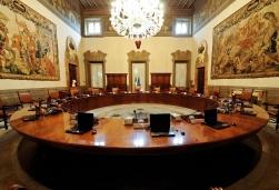 ROMA 19 maggio 2012 PALAZZO CHIGI Sala Consiglio dei Ministri fotografie di Renato Franceschin