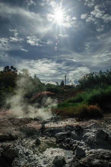 Larderello (Pisa) Centrale Geotermica Enel fotografie di Renato Franceschin